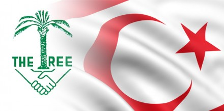 TRNC Flag with Tree Logo