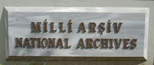 Milli arşiv / National Archives